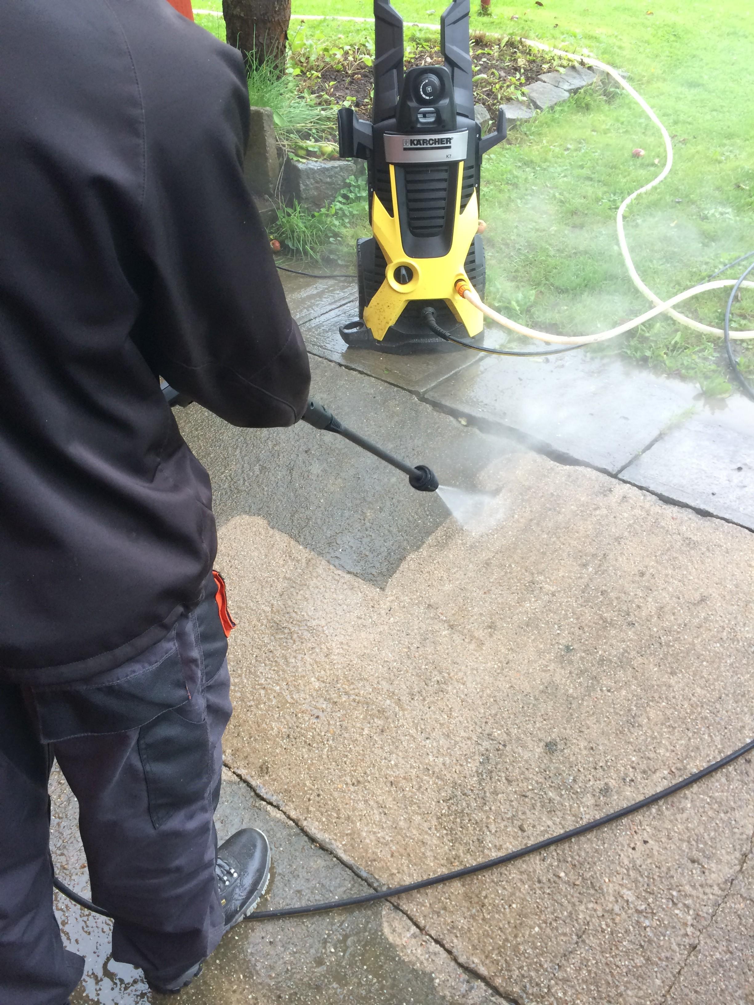 Tlakové umývání wapkou, beton