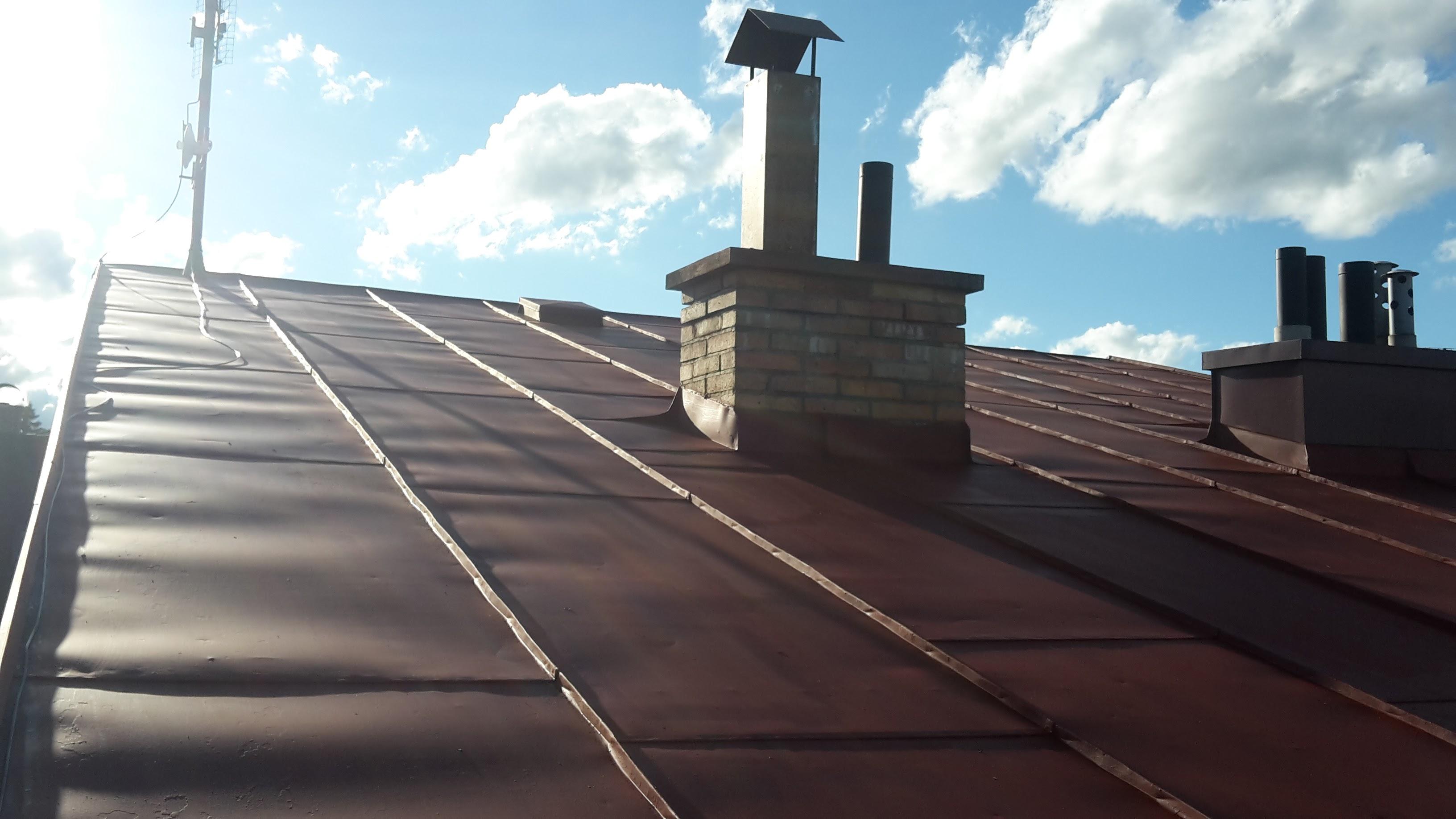 Nátěr střechy v Jihlavě