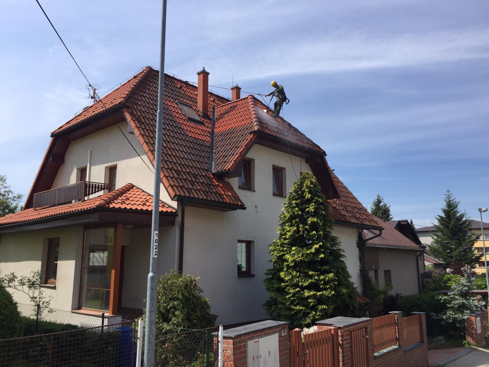 Čištění střechy Žďár nad Sázavou