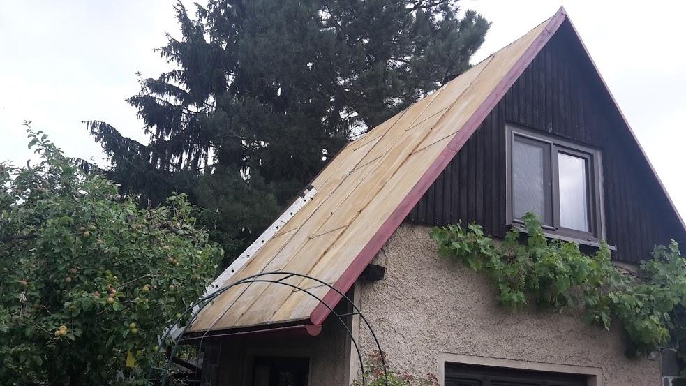 Nátěr hliníkové střechy, Chotěboř