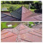 Nátěr střechy na Vysočině